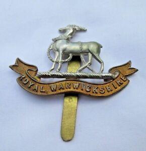 Royal Warwickshire Regiment Bi Metal Cap Badge