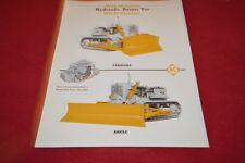 Allis Chalmers HD-11 Crawler Tractor Dealer's Brochure YABE14 ver31