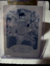 2012 Topps Gypsy Queen - Carlton Fisk Cyan Printing Plate #'d 1/1 - Red Sox