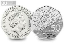 2019 D-Day Landings 50p Certified BUNC 50 Years Of The 50p Military BU Coin.