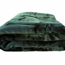 Fancy colliction SUPERSOFT  HEAVYWEIGHT FLANNEL BLANKET SOLID COLOR QUEEN/KING
