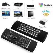 2.4Ghz Air Mouse Clavier sans fil 6 axes Télécommande pour Smart Android TV Box