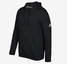 ADIDAS Mens Team PO Pullover Fleece Hoodie Jumper - Size L to 4XL - OZ STOCK!
