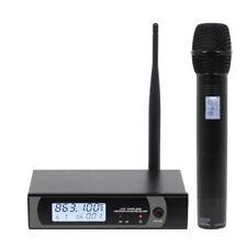 W Audio RM 30 UHF Handheld Wireless Karaoke Radio Microphone System (863.1Mhz)