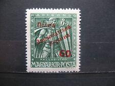 1945 Hungary Carpatho Ukraine 8+2 / 60  signed