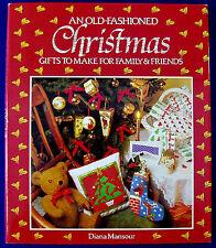 CHRISTMAS CRAFT PATTERN BOOK Crochet Knitting Cross Stitch Sewing Decoration