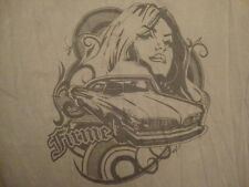 LATIN LINGO Firme 1962 Pontiac Catalina Lowrider la raza impala T Shirt XL