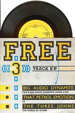 "7"" - BIG AUDIO DYNAMITE (BAD) THAT PETROL EMOTION+THE THREE JOHNS (R.M.UK PROMO)"