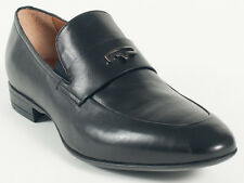 New  Vittorio Virgili Black Leather Made in Italy  Shoes Size 42 US 9