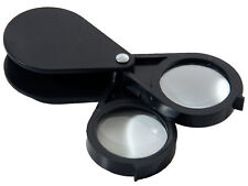 10X & 20X Combined Pocket Magnifying Glass Magnifier