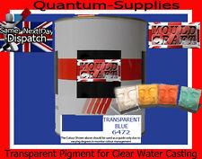 Transparente el pigmento azul 100 g de poliéster Gelcoat / Resina / Agua Transparente De Resina
