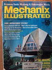 Mechanix Illustrated Mag April 1974, Mustang II, VW, Mazada,  Free US S/H