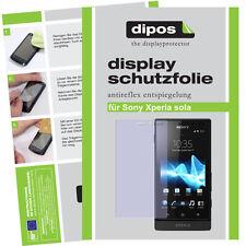1x Sony Xperia sola screen protector protection guard anti glare