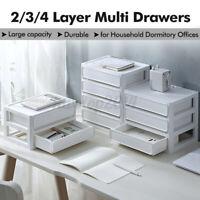 2 Layers Desktop Storage Box Organizer Drawer Jewelry Cosmetics Makeup Case )