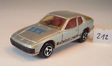Majorette 1/60 Nº 247 Porsche 924 Coupé Argent Métallique PROMO ITT #212