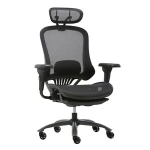 Luxury Ergonomic Office Chair with Headrest For Home With Footrest Moustache®