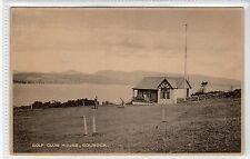 GOLF CLUB HOUSE, GOUROCK: Renfrewshire postcard (C22003)