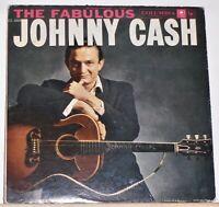 Johnny Cash - The Fabulous Johnny Cash - 1958 LP Record - 6 Eye Mono CL1253