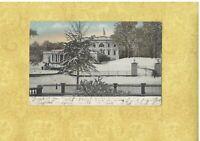 DC Washington 1906 antique postcard White House IN WINTER UDB