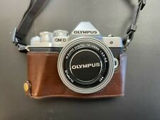Olympus OM-D E-M10 MARK III 16.1 MP Mirrorless Camera with 14-42mm Lens - Silver