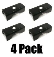"""(4) TRAILER AXLE SPRING SEAT PERCH fit 1 3/4"""" & 2"""" Wide Springs Weld On for SP-3"""