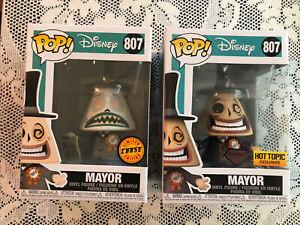 Funko Pop Disney Nightmare Before Christmas Mayor Chase Plus Diamond Hot Topic