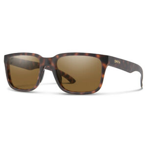 Smith Headliner Matte Tortoise Sunglasses w/ CP Polarized Brown Lens