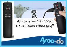 Aputure V-Grip VG-1 USB Handgriff Griff Follow Focus Controller f. Canon DSLR