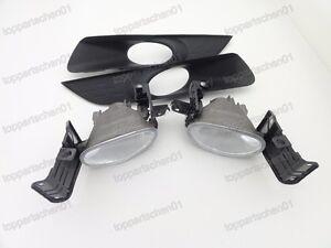 1Set Clear Front Fog Lamp Light W/Bezel for Honda Accord Crosstour 2010-2012