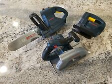 BOSCH Power Tool Toys Set of 3 Chain Jig Circular Saw Battery Powered Works
