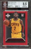 2012-13 innovation red #161 KYRIE IRVING cavaliers rookie BGS 8.5 (8 9 9.5 9)