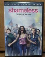 SHAMELESS THE COMPLETE FOURTH SEASON DVD 2014 3 DISC SET FREE SHIPPING