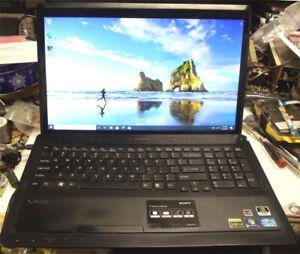 Sony VAIO VPCF23B4X 1080P  i7-2670QM 2.20G  500Gb Hard drive 6GB Ram Blue ray