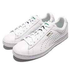 Puma Court Star NM Triple White Gold Leather Men Casual Shoes Sneakers 357883-01