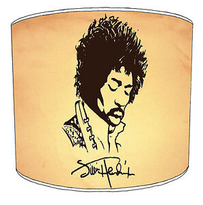 Jimi Hendrix Lampshades Ideal To Match Ablums Posters Wallpaper Decals Stickers