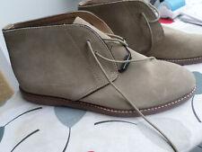 New Mens Banana Republic Desert Chukka Boot Shoe Sand Suede Size: UK 11.5 $99.99
