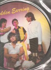 """GOLDEN EARRING """"Live & Pictured"""" 1984 Polydor Picture Vinyl LP"""