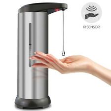 280ML Soap Sanitiser Dispenser Hands Free IR Sensor Touchless AUTOMATIC