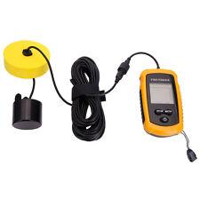 100M Depth Fish Finder Portable Sonar Sensor Alarm Transducer Fishfinder LCD Hot