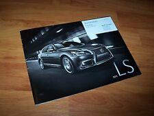 Catalogue / Brochure LEXUS LS 2015 (Québec) //