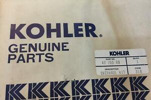 Kohler Overhaul Gasket Set Kit W/ Seals 4775508