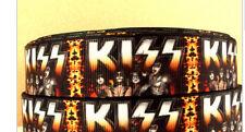 Kiss Ribbon Rock band Gene Simmons and Paul Stanley
