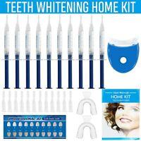 44% HOME Teeth Tooth Whitening Whitener KIT Dental Gel Bleaching + White Light