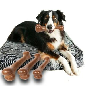 DurablePet  Puppy Teething Chew Bone Toy large Small dogs Teeth Cleaning tool.