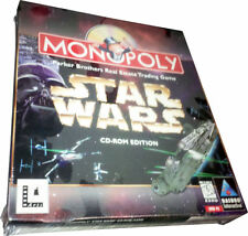 Monopoly: Star Wars Edition 1997 PC Large Retail Box NEW Mint in Sealed Box MISB