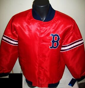 BOSTON RED SOX MLB STARTER Snap Down Jacket Fall 2020 RED/BLUE