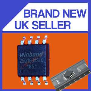 WINBOND 25Q16JVSIQ SOP8 IC CHIP GENUINE / UK SELLER FAST POST