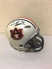 "Carnell ""Cadillac"" Williams Signed Auburn Tigers Mini Helmet Upperdeck"