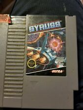 NES Nintendo Gyruss Cleaned and Tested