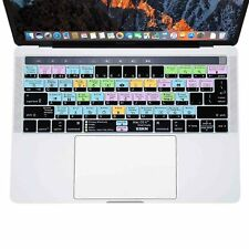 XSKN Mac OS X Shortcut Keyboard Cover for MacBook Pro 13.3/15.4 With Touch Bar